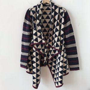 THML draped cardigan